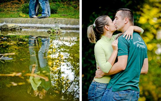 Locatii poze nunta in Arad - sedinta inainte de nunta parcul de la Macea