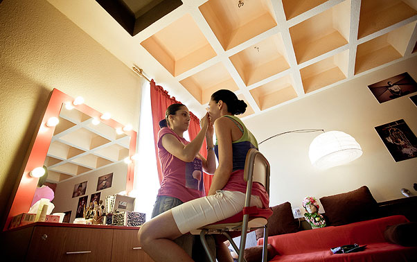 Machiaj de nunta mireasa Irina din Ramnicu Valcea