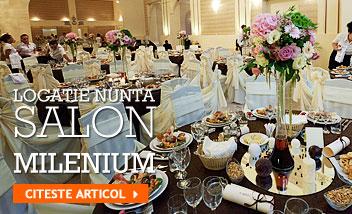 Locatie nunta Arad! Salon Milenium